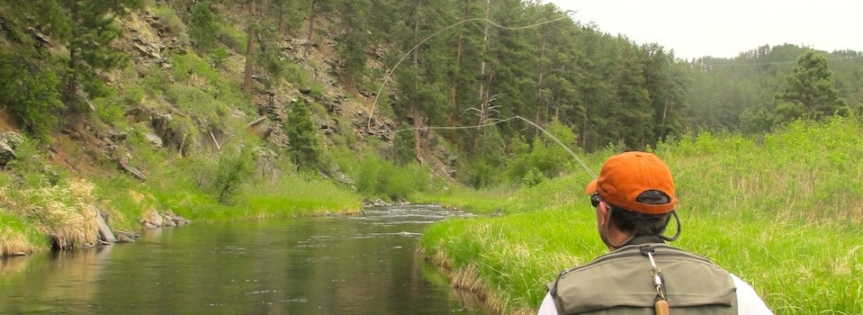black hills guided fishing cast