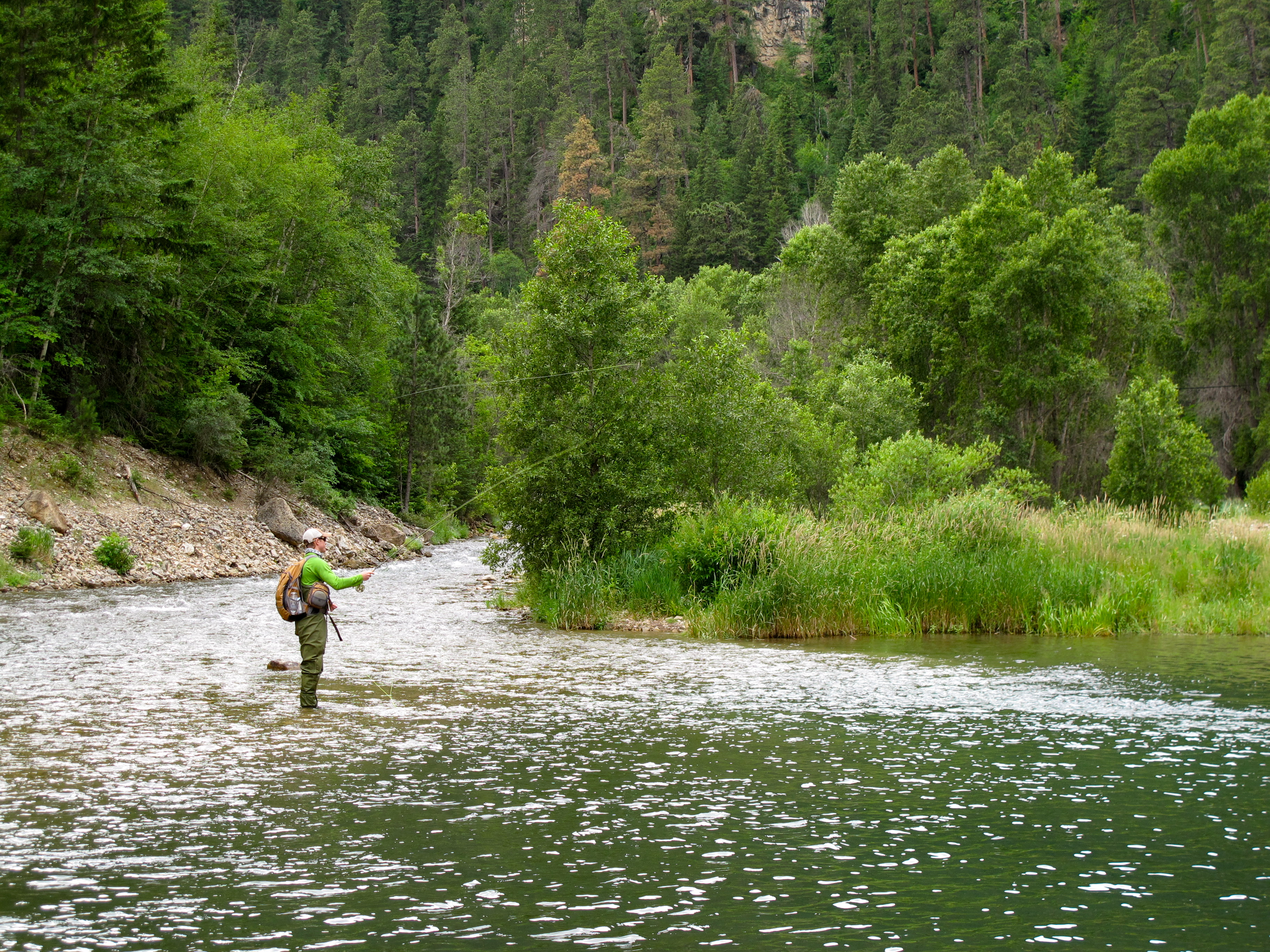 Black hills fishing dakota angler outfitter black for Fly fishing south dakota