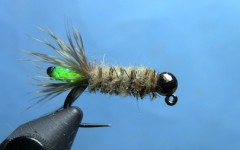 Tying the Pearl Core Cased Caddis