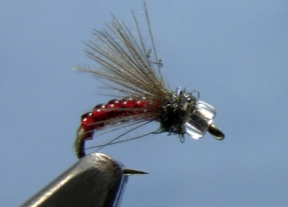 cdc midge emerger fly tying