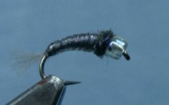 Tying the Chewee Black Fly Larvae