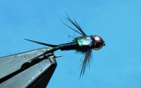 tying copper john nymph