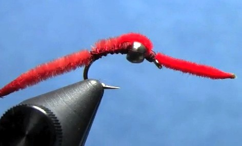 tungsten san juan worm fly