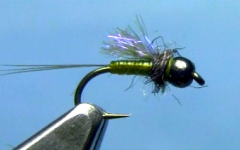 Ultra Violet Nymph Fly Tying Video