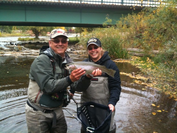 Black Hills Trout Fishing Fall 2012