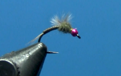 Tying Dave's Hot Bead Soft Backed Baetis Nymph