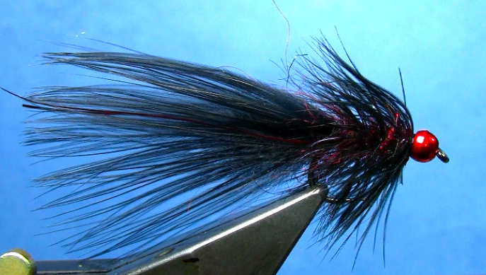 fly tying hot headed leech pattern