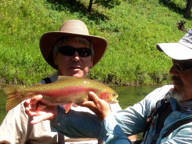 Beautiful Basin Rainbow from Guide Dave Gamety
