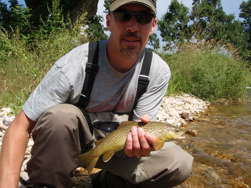 Matt with a solid Spearfish brown