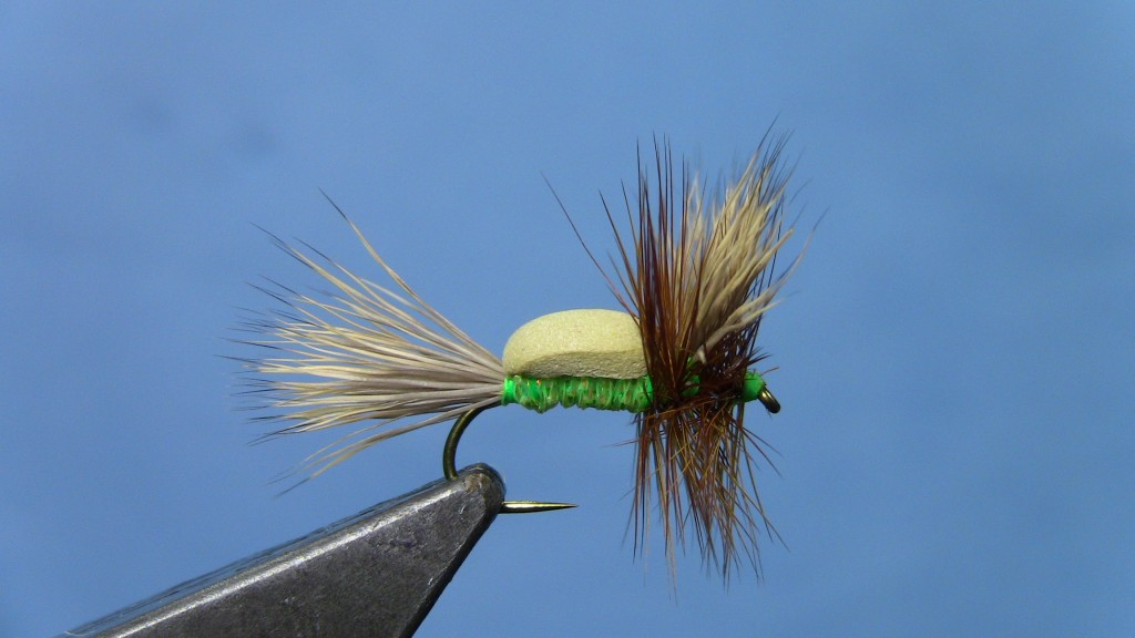 Foam Backed Humpy Fly Tying Video