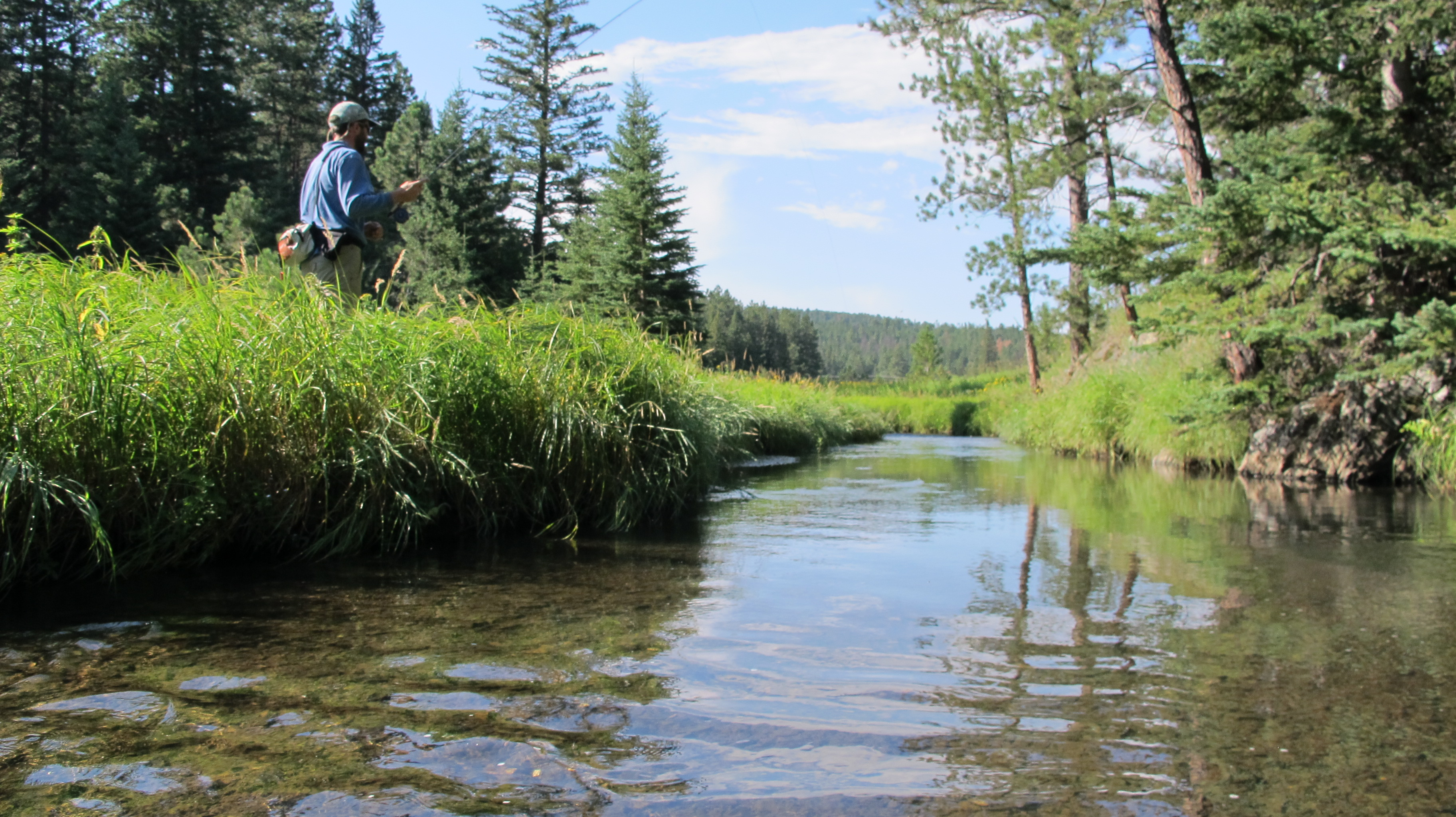 Black hills fishing report september 3rd 2014 dakota for Fly fishing south dakota