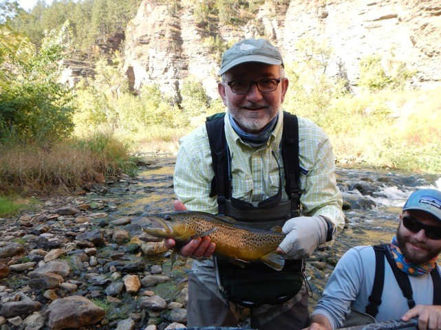 Black hills fishing report october 17 2014 dakota for Dakota angler fishing reports