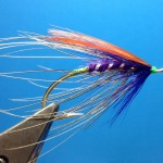Deep Purple Spey Fly