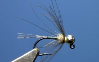Quill Body Soft Hackle Jig Nymph