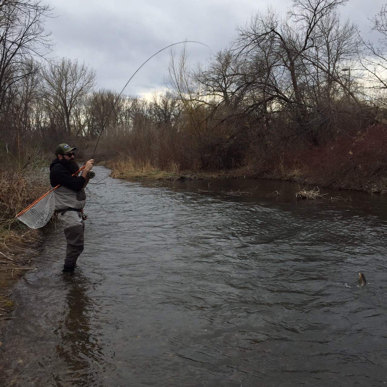 Black hills fly fishing report april 9th 2015 for Black hills fly fishing