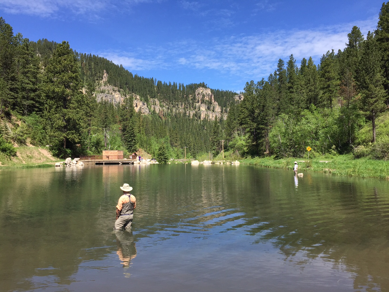 Black hills fishing report june 2015 trout dakota angler for Fly fishing south dakota