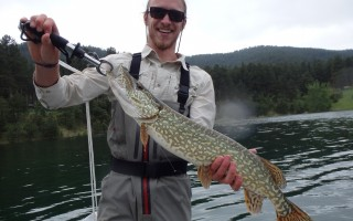 Jacob with a nice Pike