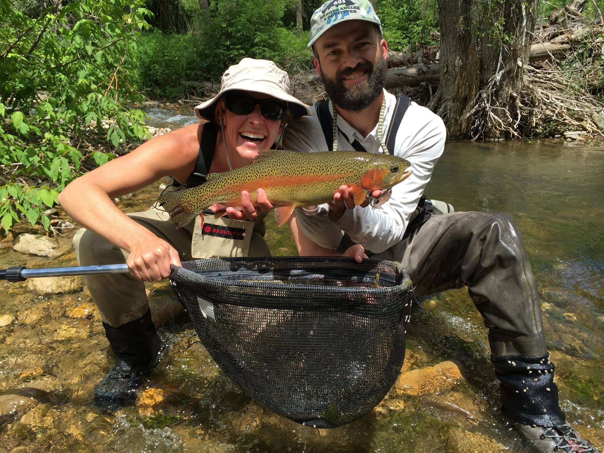 Black hills fishing report july 16 2015 dakota angler for Fly fishing south dakota