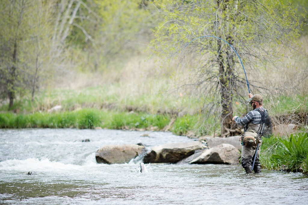 High waters dakota angler outfitter black hills fly for Black hills fly fishing
