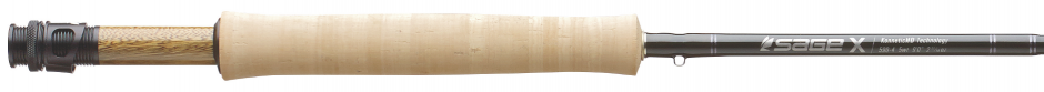 Sage X Fly Rod 9' 5 Weight 4 Piece