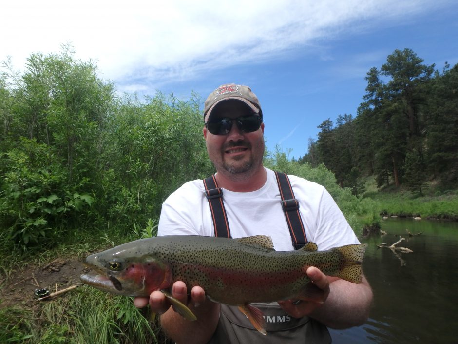 Black hills fishing report 7 12 2016 dakota angler for Dakota angler fishing reports
