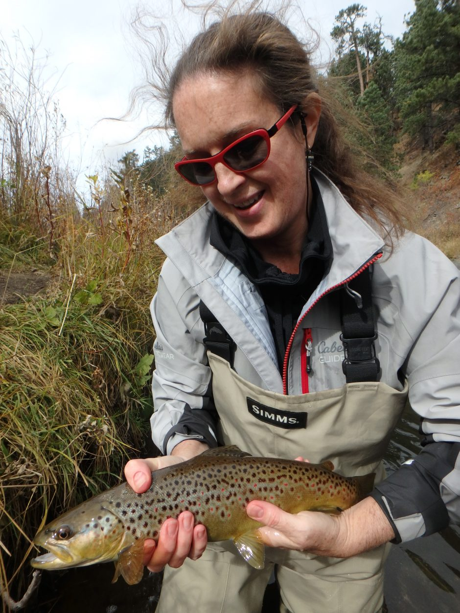 Black hills fishing report halloween edition dakota for Dakota angler fishing reports