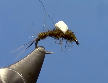 Foam Wing RS2 Emerger Fly Tying Video