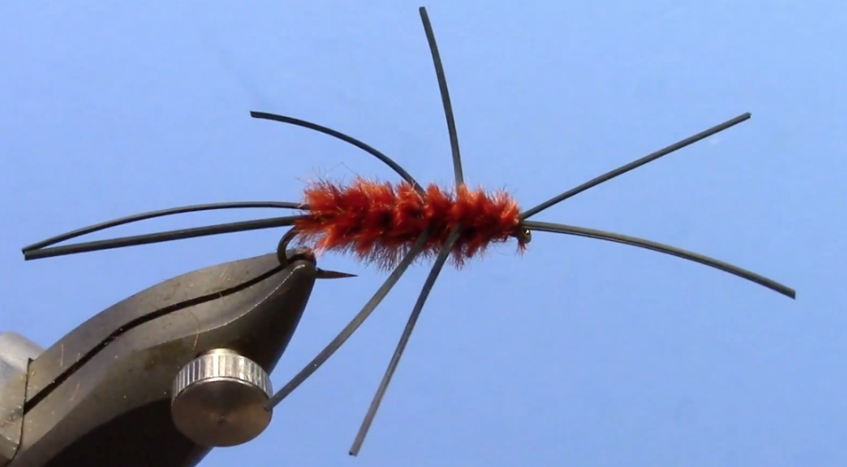 pat's rubber legs nymph fly tying video