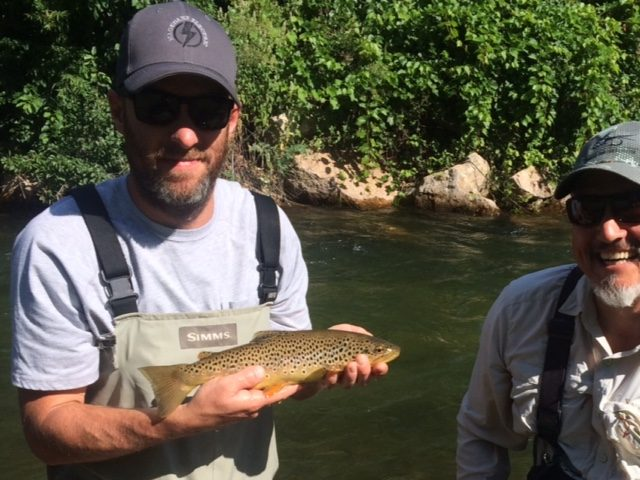 black Hills fishing july 2 fly fishing
