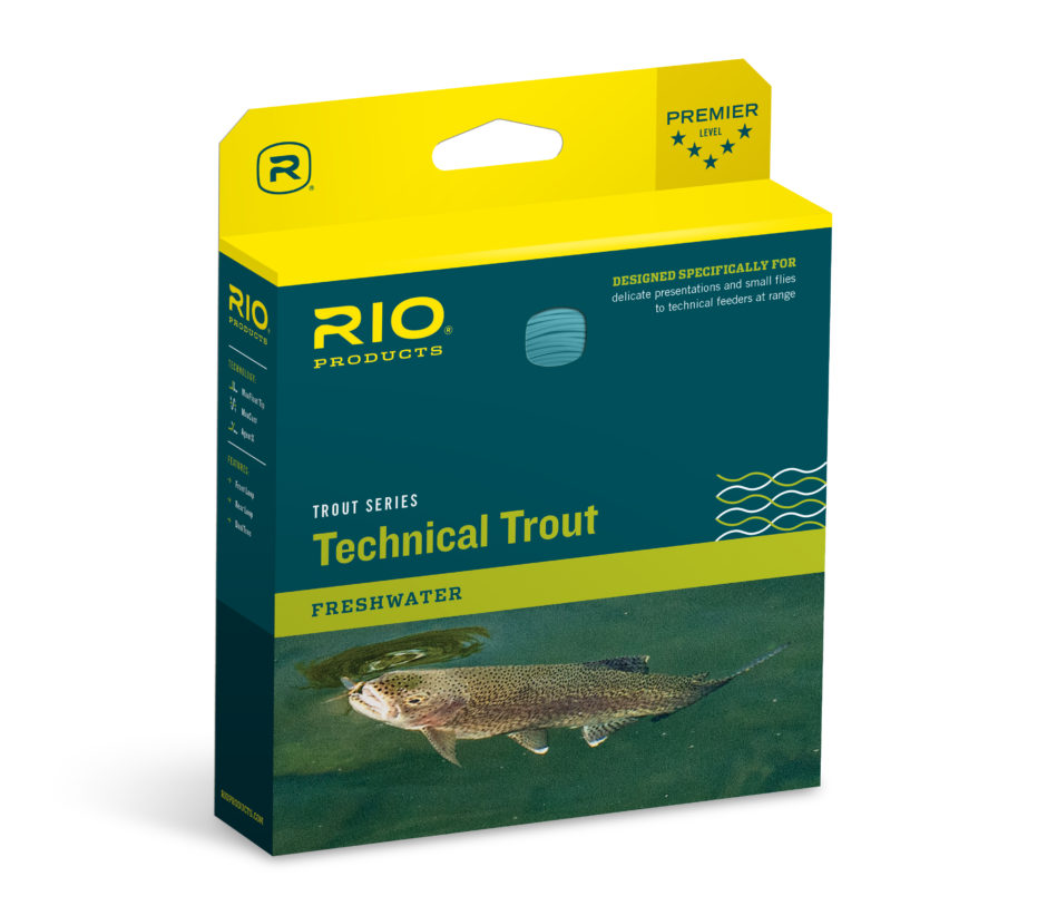RIO's new Technical Trout line has been designed for the angler fishing at range with long leaders and needing pinpoint accuracy and feather-weight presentation.