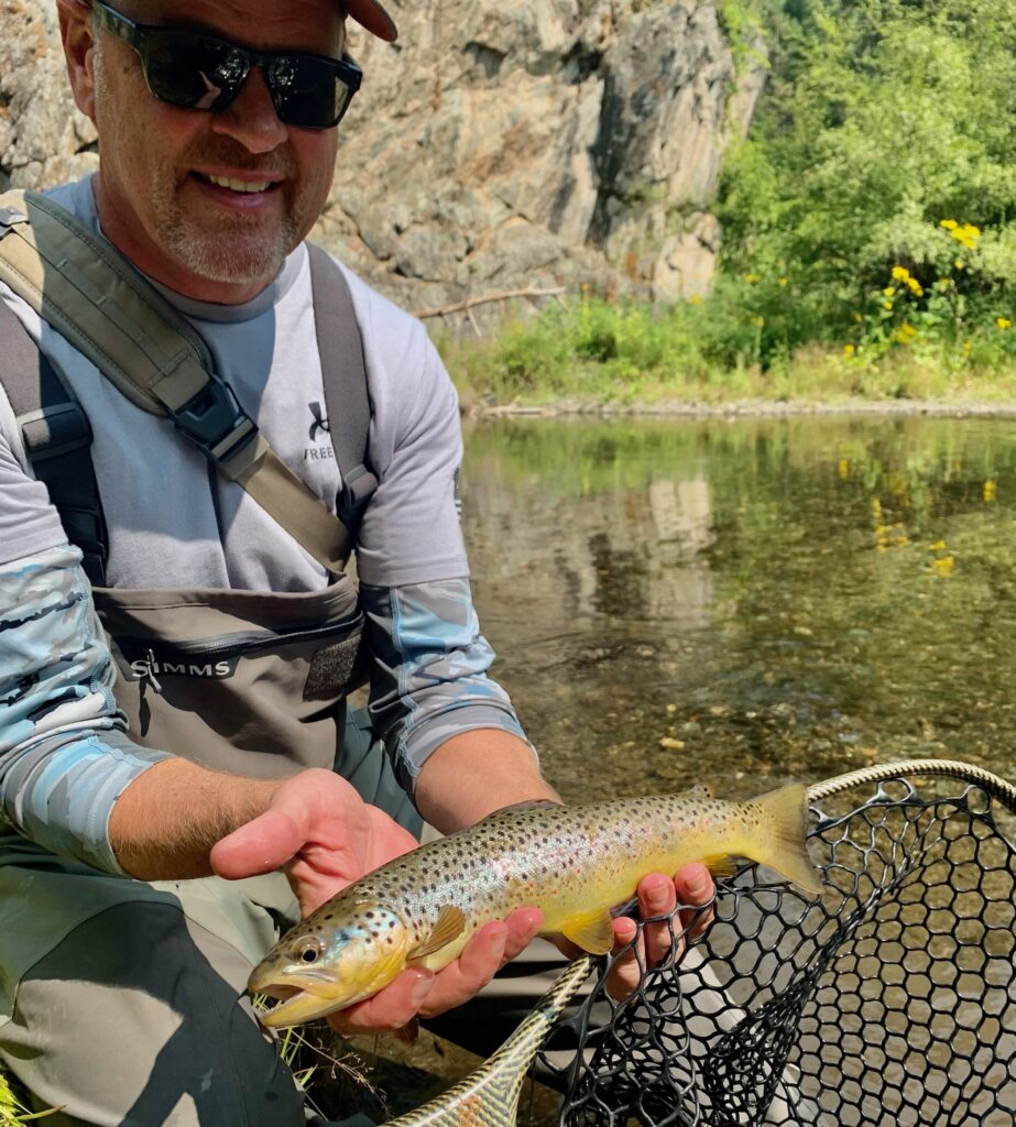 black hills fishing august fly fishing trout